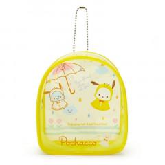 Japan Sanrio Keychain Cover Pouch - Pochacco / Happy Rainy Days