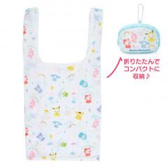 Japan Sanrio Water Repellent Eco Bag - Sanrio Family / Happy Rainy Days