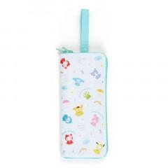 Japan Sanrio Folding Umbrella Case - Sanrio Family / Happy Rainy Days