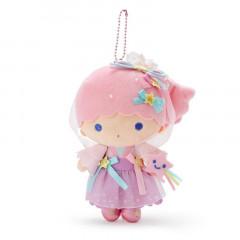 Japan Sanrio Keychain Plush - Little Twin Stars Lala / Tanabata