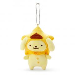 Japan Sanrio Keychain Plush - Pompompurin / Tanabata