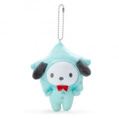 Japan Sanrio Keychain Plush - Pochacco / Tanabata