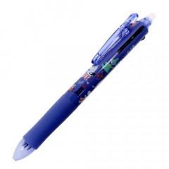 Japan Moomin FriXion Erasable 3 Color Multi Gel Pen - Violet