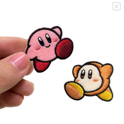 Japan Kirby Embroidery Iron-on Applique Patch - Waddle Dee - 1
