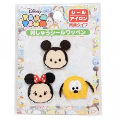 Japan Disney Embroidery Iron-on Applique Patch - Tsum Tsum Mickey & Friends