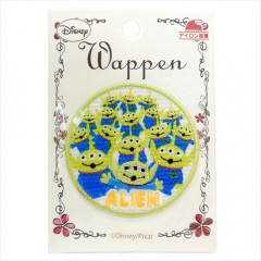 Japan Disney Embroidery Iron-on Applique Patch - Little Green Men