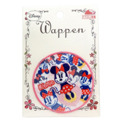 Japan Disney Embroidery Iron-on Applique Patch - Minnie