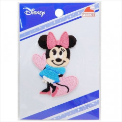 Japan Disney Embroidery Iron-on Applique Patch - Minnie Heart