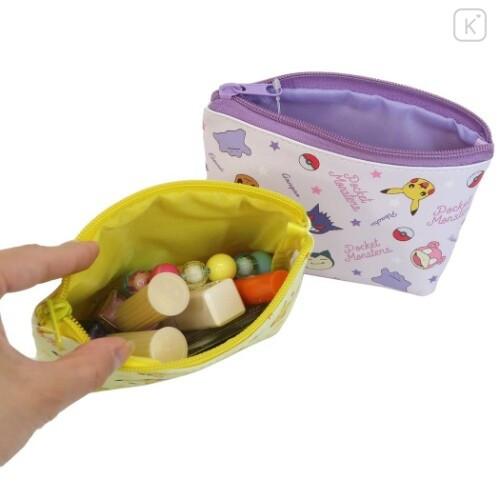 Japan Pokemon Triangular Pouch - Mix - 3