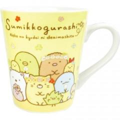 Japan Sumikko Gurashi Pottery Mug - Yellow