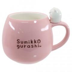 Japan Sumikko Gurashi Pottery Mug - Pink Polar Bear