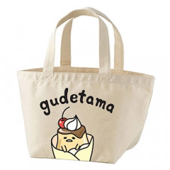 Japan Sanrio Cotton Bag - Gudetama