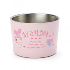 Japan Sanrio Stainless Dessert Cup - My Melody