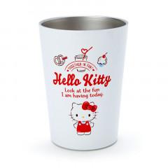 Japan Sanrio Stainless Tumbler - Hello Kitty