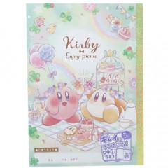 Japan Kirby B5 Glue Plain Notebook - Picnic