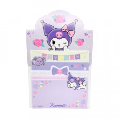 Sanrio Sticky Notes with Stand - Kuromi