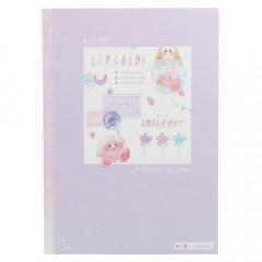 Japan Kirby B5 Glue Study Notebook - Pupupu Lollipop