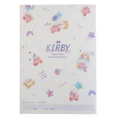 Japan Kirby A5 Glue Contact Book - Pupupu Lollipop