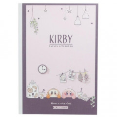 Japan Kirby B5 Glue Study Notebook - Pupupu Afternoon