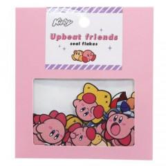 Japan Kirby Upbeat Friends Seal Flakes Sticker