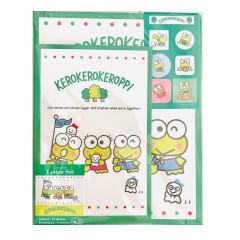 Japan Sanrio Letter Envelope Set - Keroppi 3