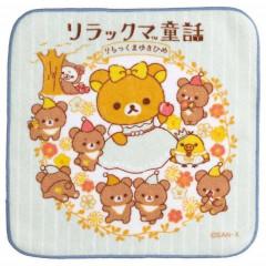 Japan San-X Handkerchief Petit Towel - Rilakkuma Fairy Tale B