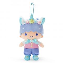 Japan Sanrio Ball Chain Plush - Little Twin Stars Kiki / Aurora Unicorn