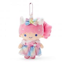 Japan Sanrio Keychain Plush - Little Twin Stars Lara / Aurora Unicorn