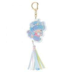 Japan Sanrio Acrylic Keychain - Little Twin Stars Kiki / Aurora Unicorn