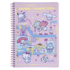 Sanrio B5 Twin Ring Notebook - Sanrio Family / Lab