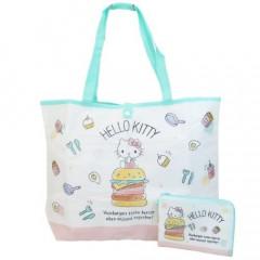 Japan Sanrio Foldable Eco Shopping Bag - Hello Kitty