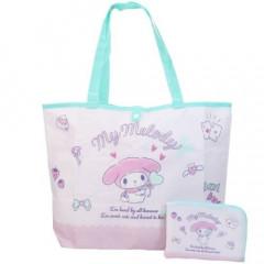 Japan Sanrio Foldable Eco Shopping Bag - My Melody