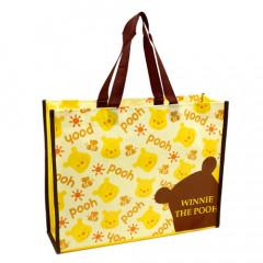 Japan Disney A4 Eco Shopping Bag - Winnie the Pooh
