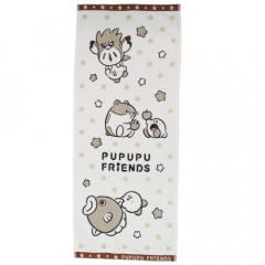 Japan Kirby Face Towel - Pupupup Friends