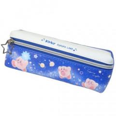 Japan Kirby 2 Pocket Pen Pouch - Stardust