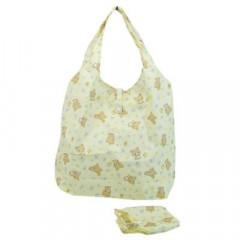 Japan San-X Foldable Eco Shopping Bag - Rilakkuma / Cream