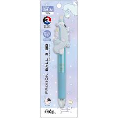 Japan San-X FriXion Ball 3 Slim Color Multi Erasable Pen - Tokage / Dream