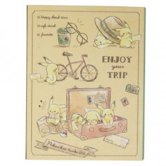 Japan Pokemon Sticky Notes - Pikachu Travel