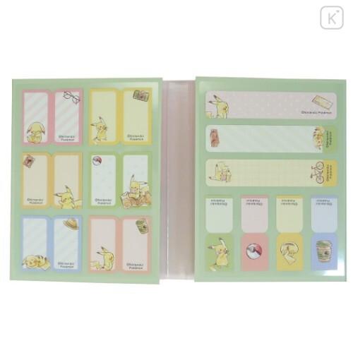 Japan Pokemon Sticky Notes - Pikachu Travel - 2