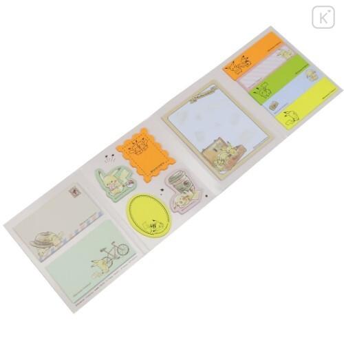 Japan Pokemon Sticky Notes - Pikachu Travel - 5