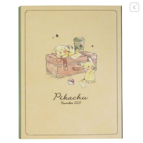 Japan Pokemon Sticky Notes - Pikachu Travel - 7