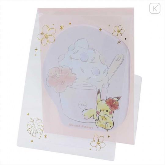 Japan Pokemon Sticky Notes - Pikachu STAND OUT PIT - 1