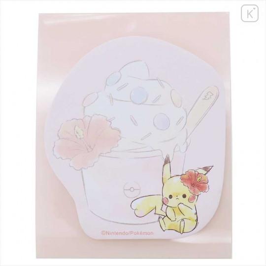 Japan Pokemon Sticky Notes - Pikachu STAND OUT PIT - 2