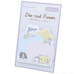 Japan Sanrio Die-cut Fusen Sticky Notes - Sleepy