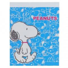 Japan Peanuts B8 Mini Notepad - Full Snoopy