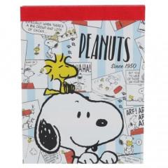Japan Peanuts B8 Mini Notepad - Snoopy / Comic