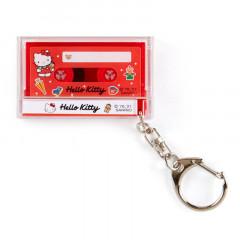 Japan Sanrio Mini Cassette Keychain - Hello Kitty
