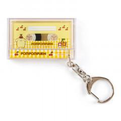 Japan Sanrio Mini Cassette Keychain - Pompompurin