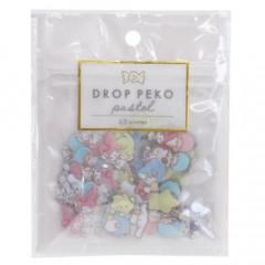 Japan Sanrio Drop Peko Pastel Sticker Pack - Sanrio Family
