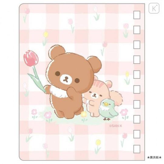 Japan San-X A7 Twin Ring Notebook - Friends of Chairoikoguma 5th Anniversary - 2